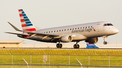 A picture of N257NN - Embraer E175LR - American Airlines - © Kevin Cargo
