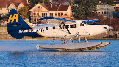 C-GUTW - De Havilland Canada DHC-3T Vazar Turbine Otter - Harbour Air