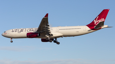 G-VINE - Airbus A330-343 - Virgin Atlantic Airways