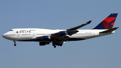 N676NW - Boeing 747-451 - Delta Air Lines