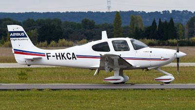 F-HKCA - Cirrus SR22 - Airbus Flight Academy Europe