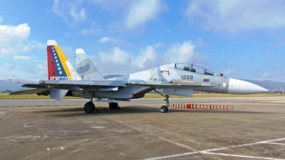 1259 - Sukhoi Su-30MK2 - Venezuela - Air Force