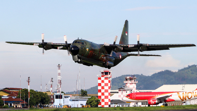A-1303 - Lockheed C-130B Hercules - Indonesia - Air Force