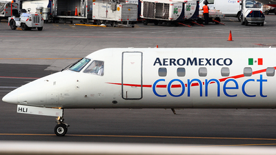 XA-HLI - Embraer ERJ-145MP - Aeroméxico Connect (Aerolitoral)