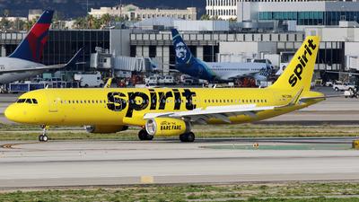 N673NK - Airbus A321-231 - Spirit Airlines