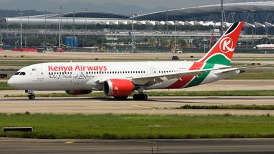 A picture of 5YKZH - Boeing 7878 Dreamliner - Kenya Airways - © Johnny_Tian