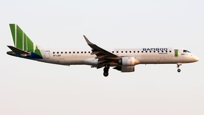 A picture of SPLNH - Embraer E195LR - Bamboo Airways - © Huy Do