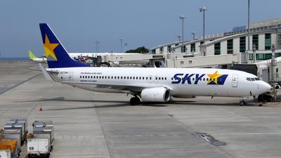 A picture of JA73NY - Boeing 73786N - Skymark Airlines - © kouyagi