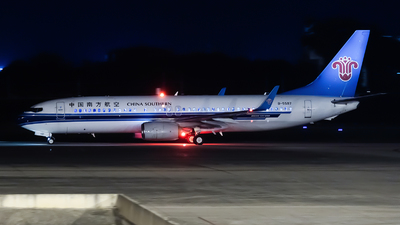 A picture of B5597 - Boeing 73781B - China Southern Airlines - © Lazy Clutch