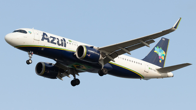 A picture of PRYRQ - Airbus A320253N - Azul Linhas Aereas - © Augusto Fernandes