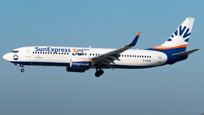 A picture of DASXB - Boeing 7378Z9 - SunExpress - © Matei Dascalu - RomeAviationSpotters