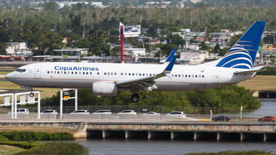 HP-1729CMP - Boeing 737-8V3 - Copa Airlines