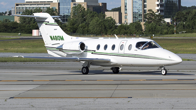 N480M - Raytheon Hawker 400XP - Private