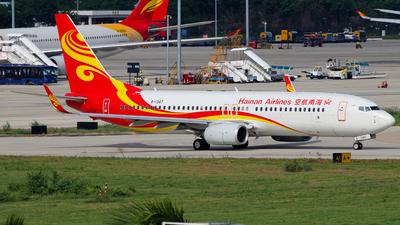 B-1347 - Boeing 737-84P - Hainan Airlines