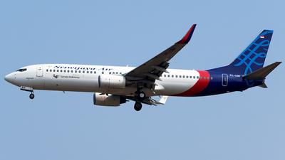 PK-CRH - Boeing 737-86N - Sriwijaya Air