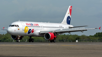 HK-5222 - Airbus A320-214 - Viva Air Colombia