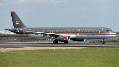 JY-AYJ - Airbus A321-231 - Royal Jordanian