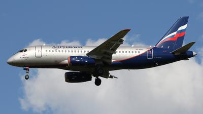 A picture of RA89101 - Sukhoi Superjet 10095B - Aeroflot - © ShipSash