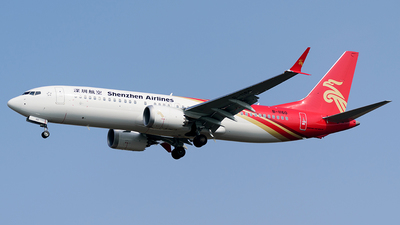 B-1160 - Boeing 737-8 MAX - Shenzhen Airlines