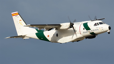 T.19B-22 - CASA CN-235MPA - Spain - Guardia Civil