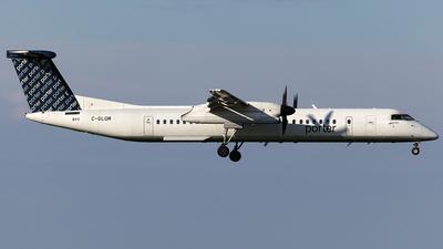A picture of CGLQM - De Havilland Canada Dash 8400 - Porter Airlines - © TOMBARELLI FEDERICO