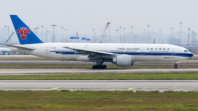 A picture of B2052 - Boeing 77721B - [27358] - © Ziqi Guan