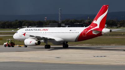 VH-UVP - Airbus A320-232 - QantasLink (Network Aviation)