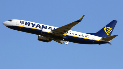 A picture of EIEFD - Boeing 7378AS - Ryanair - © Javier Rodriguez - Amics de Son Sant Joan