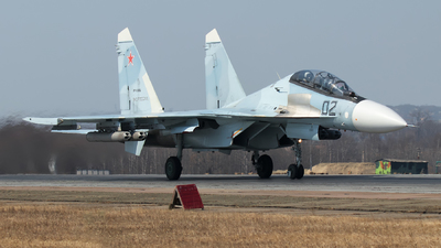 RF-93682 - Sukhoi Su-30SM - Russia - Air Force