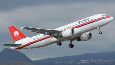 EI-EZR - Airbus A320-214 - Meridiana