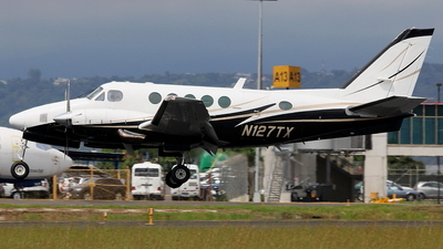 N127TX - Beechcraft 100 King Air - Private