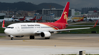 A picture of B1759 - Boeing 73787L - Shenzhen Airlines - © MICHAELWang