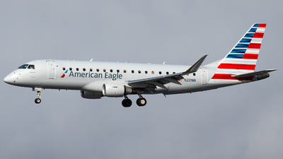 A picture of N201NN - Embraer E175LR - American Airlines - © AirPilot_Photography