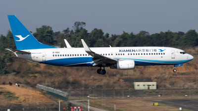 A picture of B1550 - Boeing 73785C - Xiamen Air - © baobao723