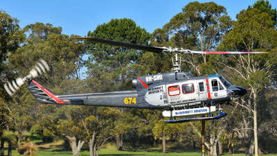 A picture of VHSMI - Bell 214B1 - [28011] - © Caleb Hotz