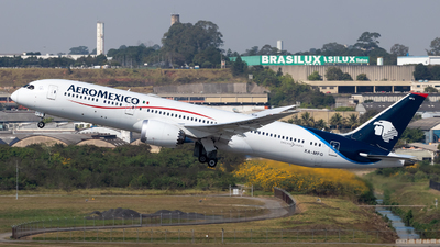 A picture of XAMFG - Boeing 7879 Dreamliner - Aeromexico - © Antonio Carlos Carvalho Jr.