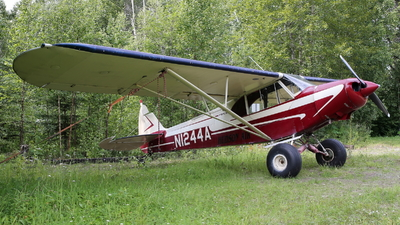 N1244A - Piper PA-18 Super Cub - Private