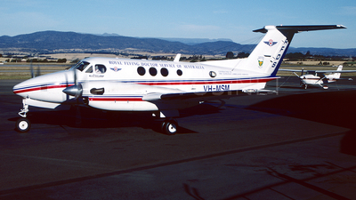 VH-MSM - Beechcraft B200 Super King Air - Royal Flying Doctor Service of Australia (SE Section)