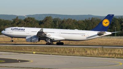 A picture of DAIKK - Airbus A330343 - Lufthansa - © mkwia