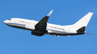 N737AT - Boeing 737-7HJ(BBJ) - Private