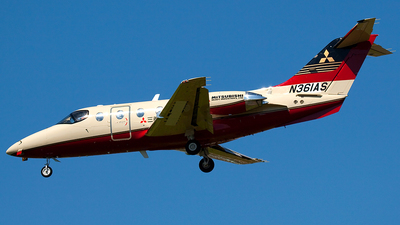 N361AS - Hawker Beechcraft 400A - Private