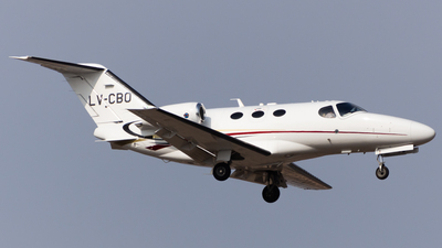 LV-CBO - Cessna 510 Citation Mustang - Private