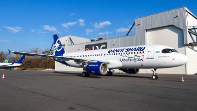 OE-ILG - Airbus A320-214 - Qanot Sharq Airlines