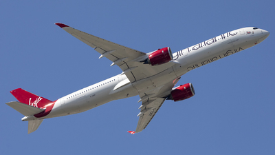 A picture of GVDOT - Airbus A3501041 - Virgin Atlantic - © X Pan