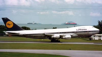 D-ABYP - Boeing 747-230B - Lufthansa
