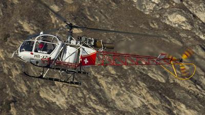 HB-XZU - Aérospatiale SA 315B Lama - Air Glaciers