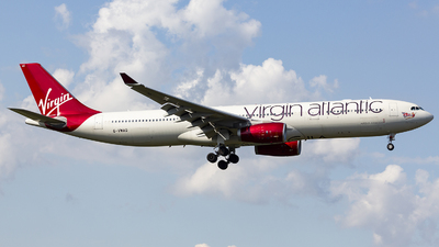 G-VWAG - Airbus A330-343 - Virgin Atlantic Airways