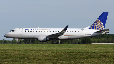 A picture of N740YX - Embraer E175LR - United Airlines - © DJ Reed - OPShots Photo Team