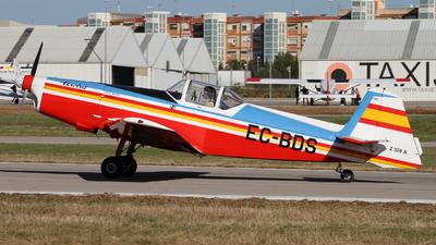 EC-BDS - Zlin 526 - Fundació Parc Aeronàutic de Catalunya (FPAC)