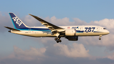 JA814A - Boeing 787-8 Dreamliner - All Nippon Airways (ANA)